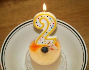 誕生日 2才